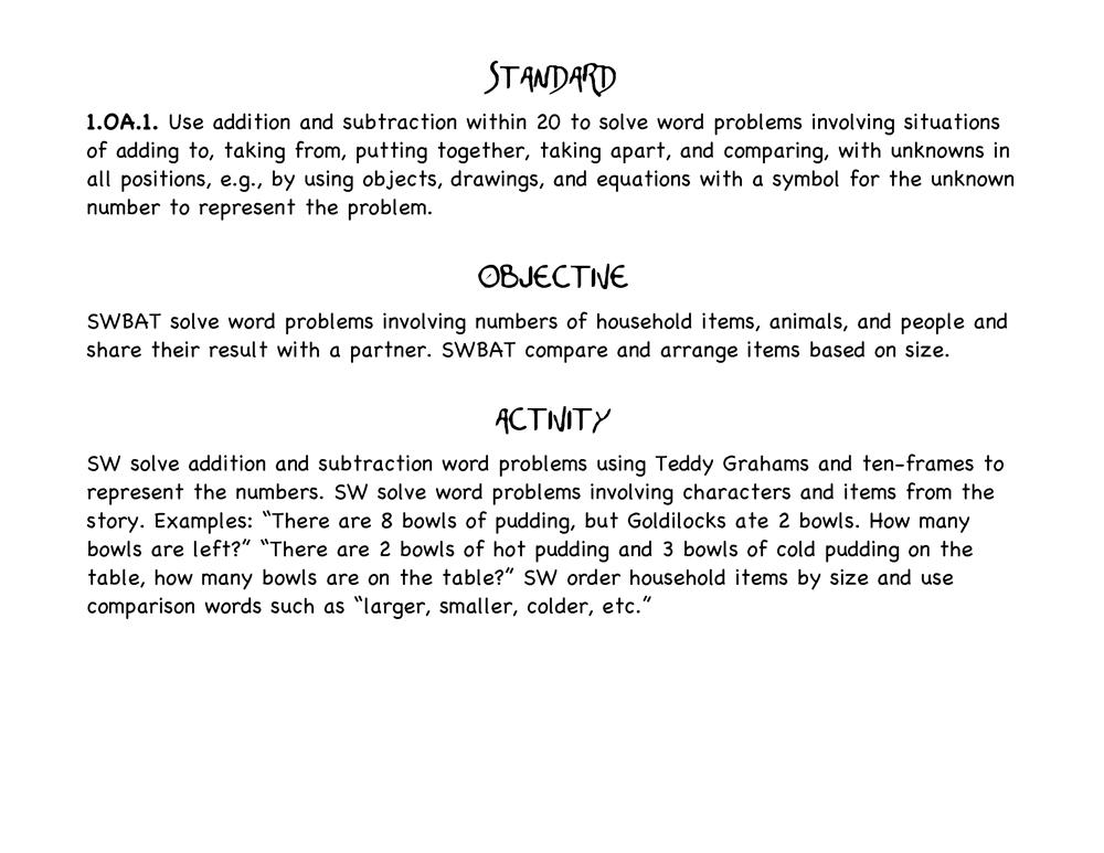 Math Objectives
