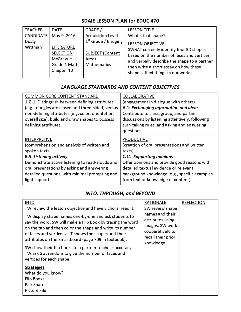 interpretive essay lesson plan Entry level park ranger interpreter module 101 title: fulfilling the nps mission: the process of interpretation interpretive skills lesson plans.